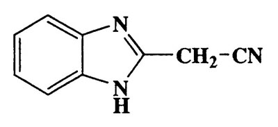 2-(1H-benzo[d]imidazol-2-yl)acetonitrile,1H-Benzimidazole-2-acetonitrile,CAS 4414-88-4,157.17,C9H7N3