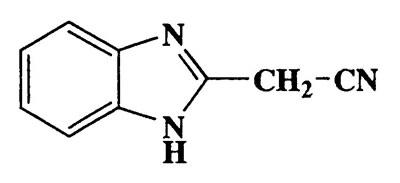 2-(1H-benzo[d]imidazol-2-yl)acetonitrile,1H-Benzimidazole-2-acetonitrile,CAS 4414-88-4,157.17,C9H7N3