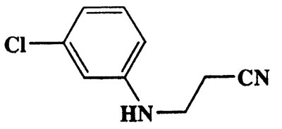 3-(3-Chlorophenylamino)propanenitrile,Propanenitrile,3-[(3-chlorophenyl)amino]-,CAS 54475-92-2,180.63,C9H9ClN2