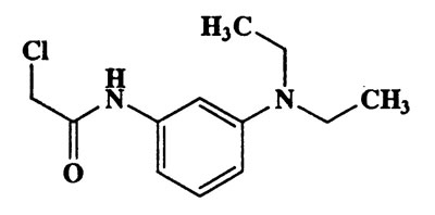2-Chloro-N-(3-(diethylamino)phenyl)acetamide,2-chloro-N-(3-(diethylamino)phenyl)acetamide,240.73,C12H17ClN2O