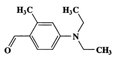 2-Methyl-4-(N,N-diethylamino)benzaldehyde,Benzaldehyde,4-(diethylamino)-2-methyl-,CAS 92-14-8,191.27,C12H17NO