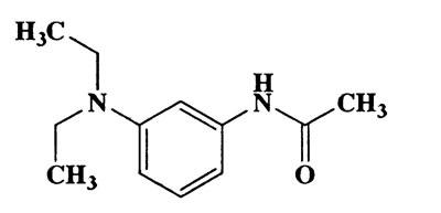 3-Acetylamino-N,N-diethylaniline,Acetamide,N-[3-(diethylamino)phenyl]-,CAS 6375-46-8,206.29,C12H18N2O