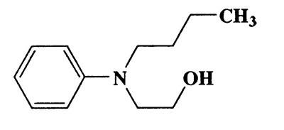 N-butyl-N-hydroxyethylbenzenamine,Ethanol,2-(N-butylanilino)-,CAS 3046-94-4,193.29,C12H19NO